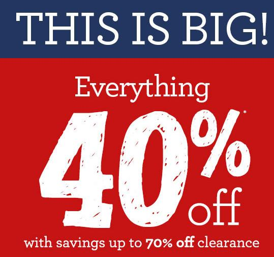 Up to 70% Off + Extra 40% Off Everything @ Gymboree