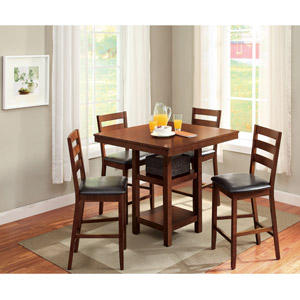 Better Homes and Gardens 5-Piece Counter Height Dining Set