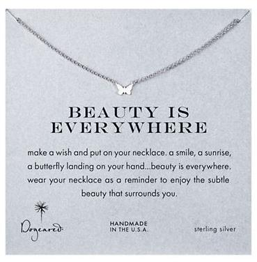 $28 DOGEARED 'Beauty Is Everywhere' Necklace @ Lord & Taylor