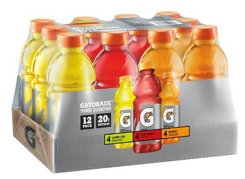 Gatorade Original Thirst Quencher Variety Pack(Pack of 12)