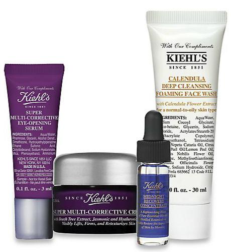 Free 4-pc Gift Set With Your $75 Kiehl's Purchase @ Saks Fifth Avenue
