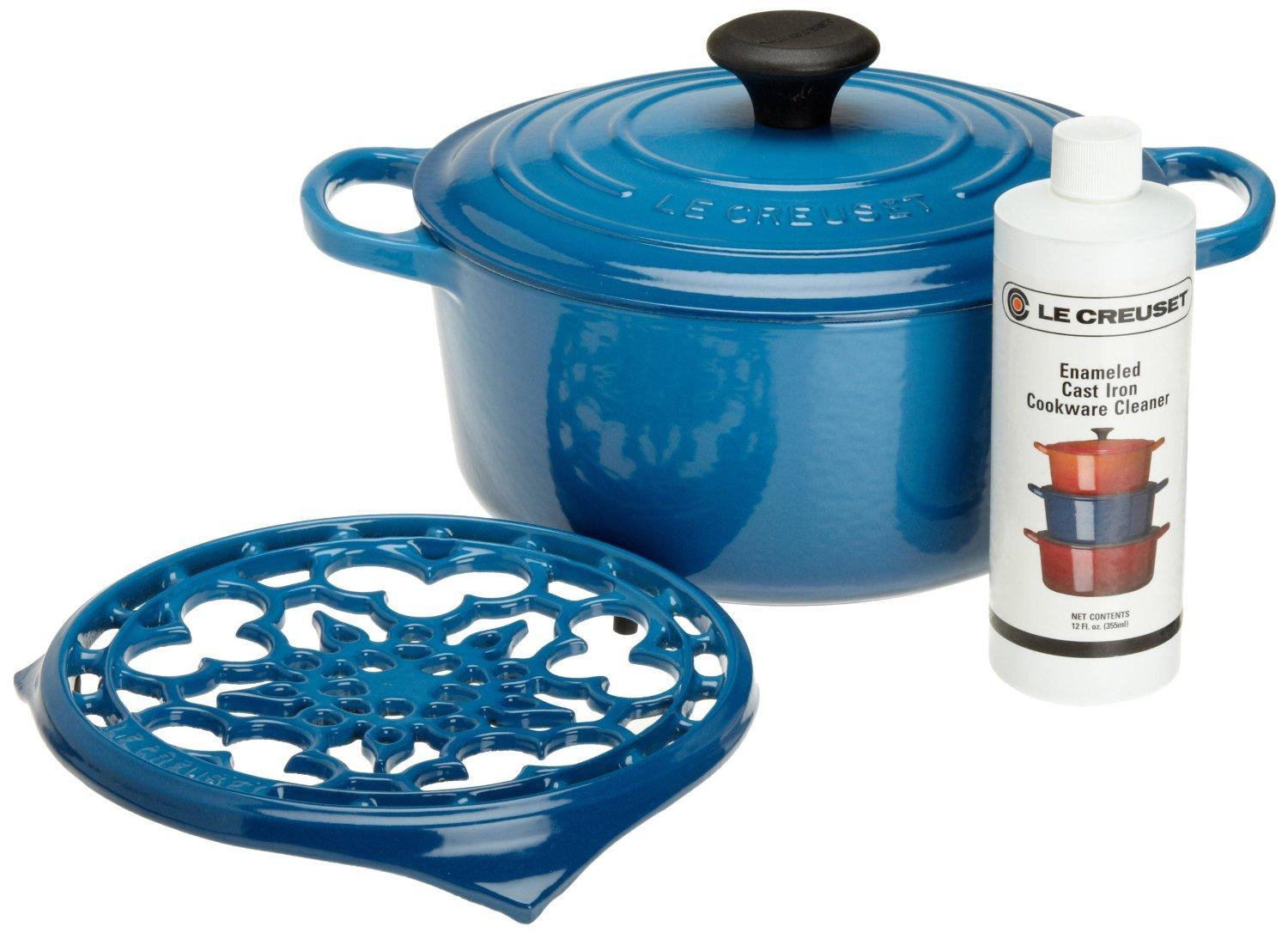 $273.08 Le Creuset Cast Iron Cookware Gift Set, Marseille