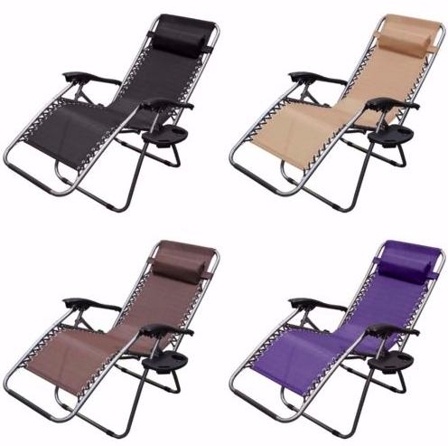 $59.99 2 Pack of Zero Gravity Outdoor Lounge Patio Chairs