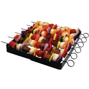 $6.97 Brinkmann 9021 Shish Kabob Set : Barbecue Skewers