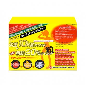 Japan Minami Healthy Foods Body Slimming Pills, 6 tablets x 75 packs