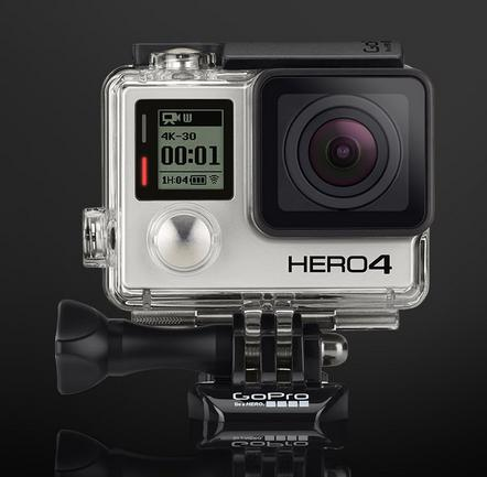 GoPro HERO4 Black 4K Action Camera CHDHX-401