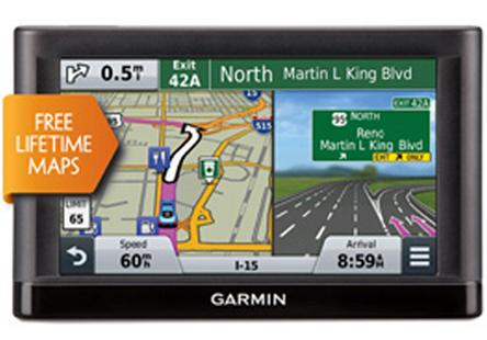 "$87.99 Refurb Garmin nuvi 55LM Essential Series GPS Navigation System with Lifetime Maps 5"" Di"