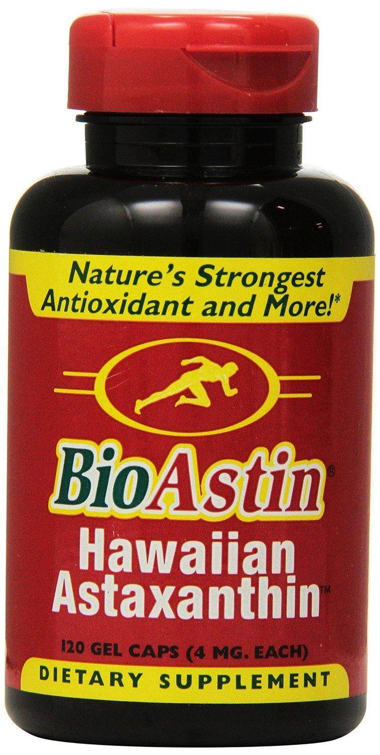 $17.65 Nutrex Hawaii BioAstin Natural Astaxanthin 4mgs., 120 gel caps