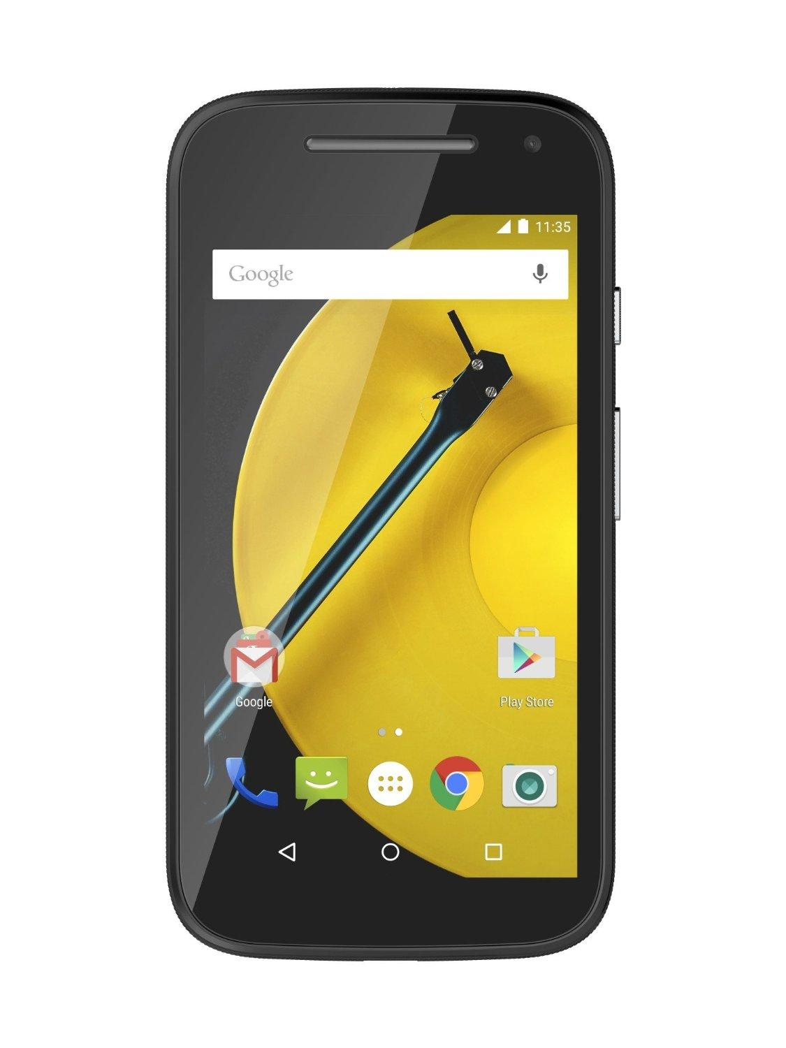 The Second-generation Unlocked Motorola Moto E 4G LTE Android Smartphone