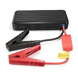 $57.99 RAVPower 500A Peak Current Portable Car Jump Starter Power Bank with 12000mAh Capacity
