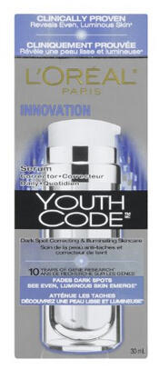 L'Oreal Youth Code Dark Spot Serum Corrector, 1 Fluid Ounce