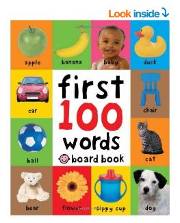 $3.92 First 100 Words Board book