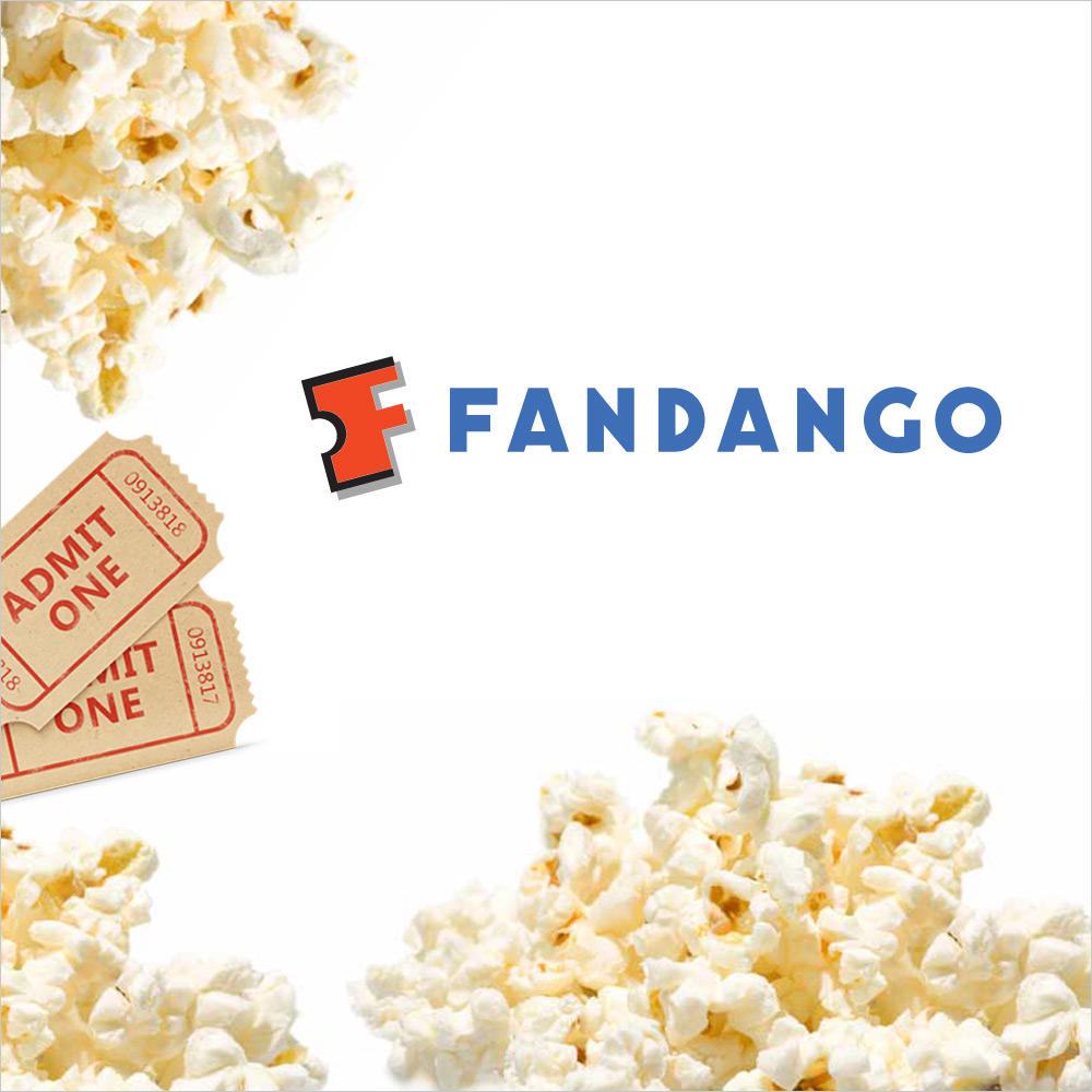 $16 Two Movie Tickets from Fandango (Up to $26 Total Value)