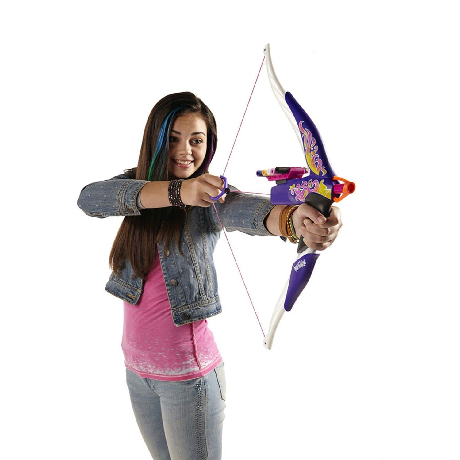 $9.29 Nerf Rebelle Heartbreaker Bow (Flame Design)