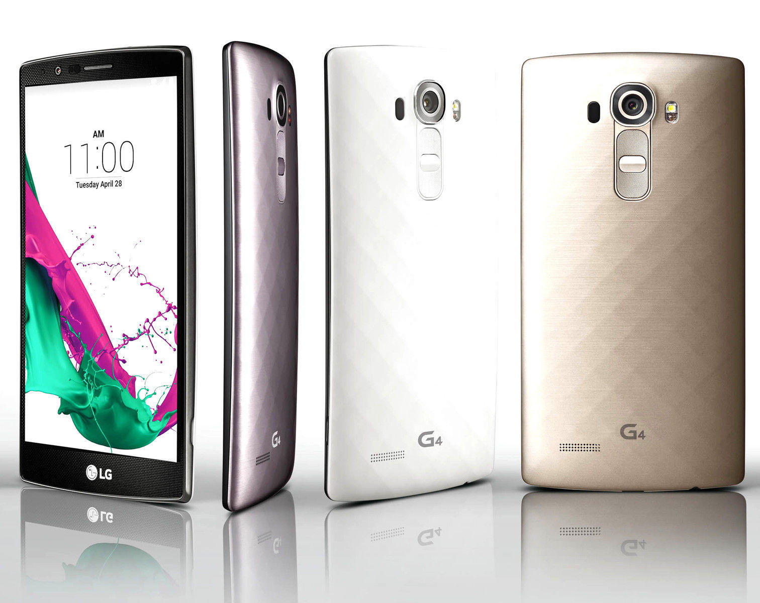 $499.99 + Free Shipping LG G4 H815 Factory Unlocked 32GB 4G LTE Smartphone Black White & Gold