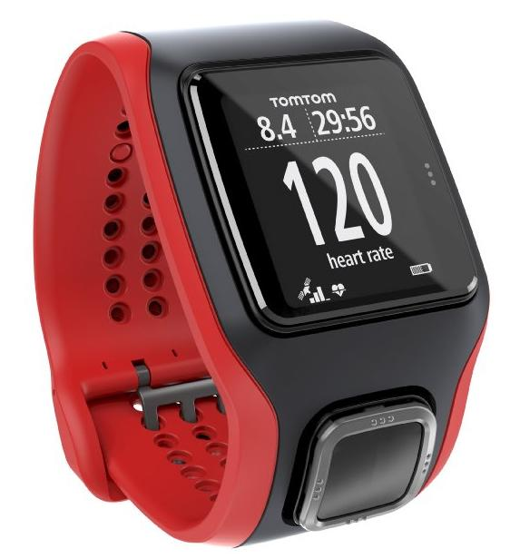 $135 TomTom Multi-Sport Cardio with Cadence Sensor and Altimeter (Black)