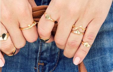 Up to 20% OffRings Stacks @ BaubleBar