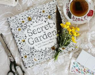 $10.12 Secret Garden: An Inky Treasure Hunt and Coloring Book