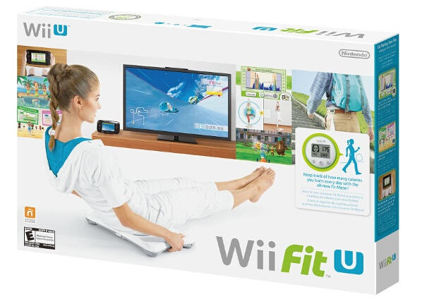 $19 Wii Fit U with Balance Board and Fit Meter