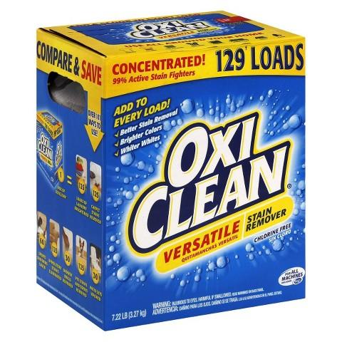 $9.49 OxiClean Versatile Stain Remover 156 Loads (7.22 lb)
