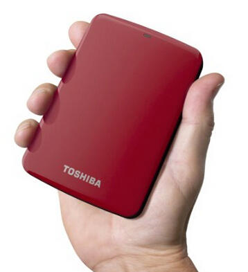 Toshiba - Canvio Connect 2TB External USB 3.0 Hard Drive