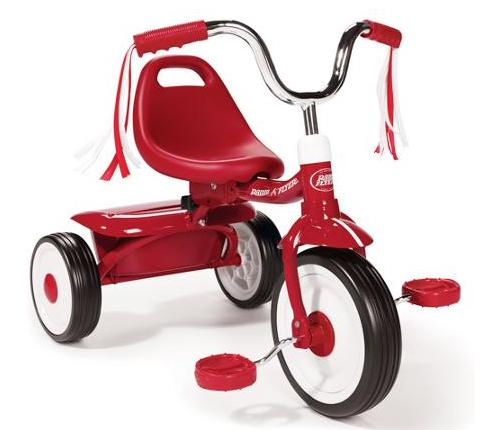 Radio Flyer Folding Red Trike @ Walmart.com