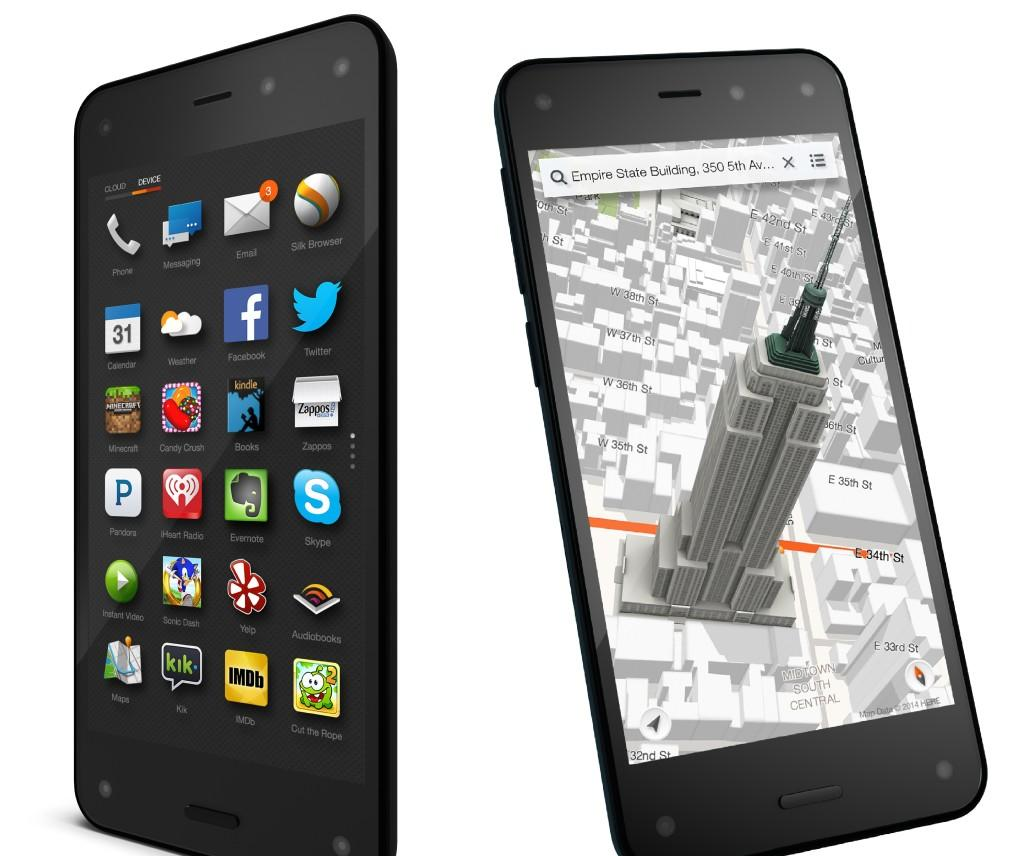 $125 Amazon Fire Phone 32GB 4G LTE (AT&T Unlocked) Smartphone + 1-Year Amazon Prime Membership & Warranty