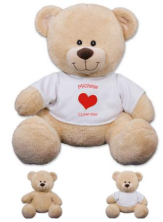 Dealmoon Exclusive!Personalized Heart Teddy Bear @ 800Bear