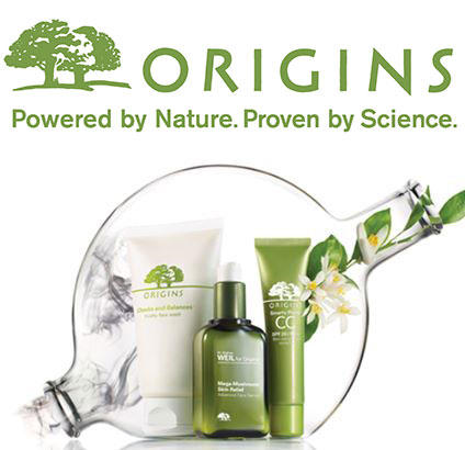 Free 2nd Day Shipping with Any $50 Order at Origins.com