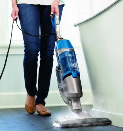 $123.99 Bissell 1132A Symphony All-in-One Vacuum and Steam Mop (4 Mop Pads Included)