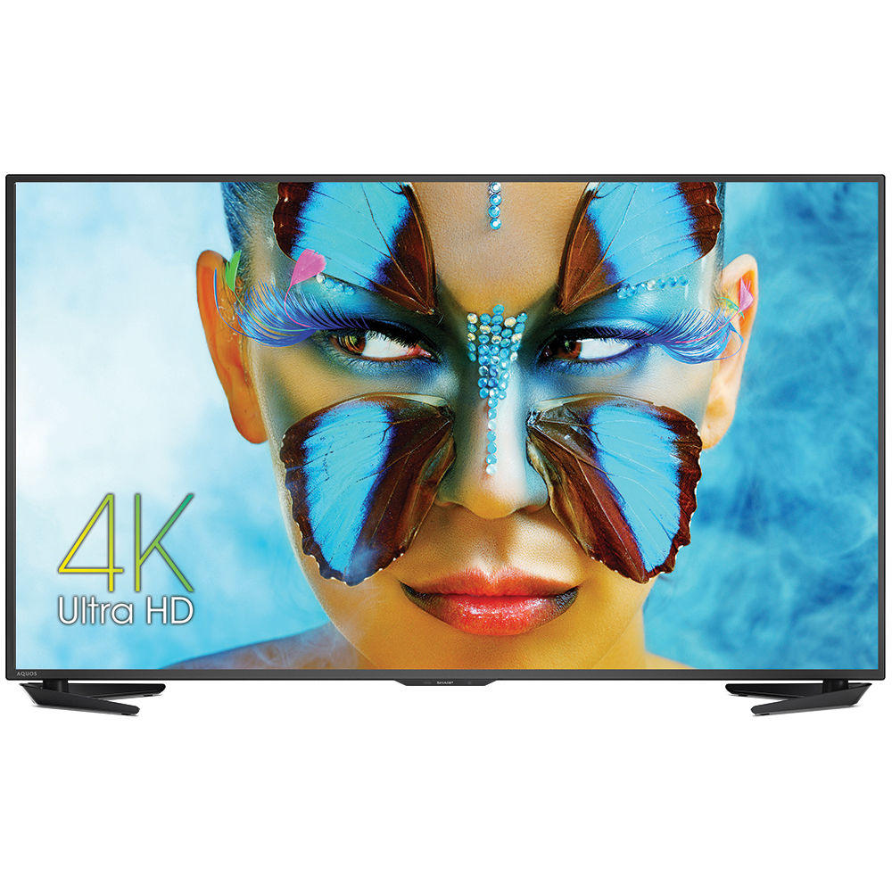 $997.99 Sharp 55 Inch 4K Ultra HD Smart TV 55UB30U UHD TV + $300 GC