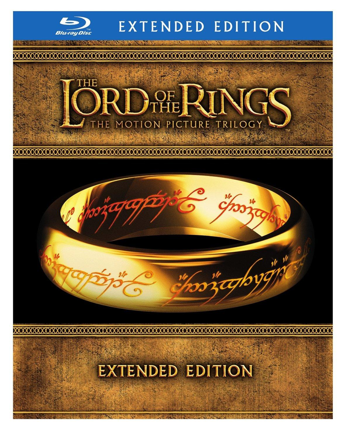 $27.99 The Lord of the Rings: The Motion Picture Trilogy (Blu-ray)