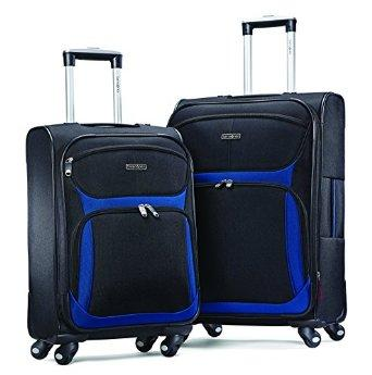 $144.99 Samsonite Airspeed 2 Piece Spinner Set 21/25, Black