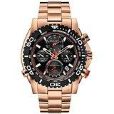 $310 Bulova Men's 98B213 Analog Display Japanese Quartz Rose Gold Watch