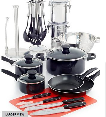 $59.99 Tools of the Trade 24 Piece Cookware Set