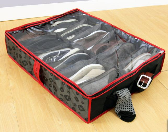 Samsonite 10-Pocket Under-Bed Shoe Organizer