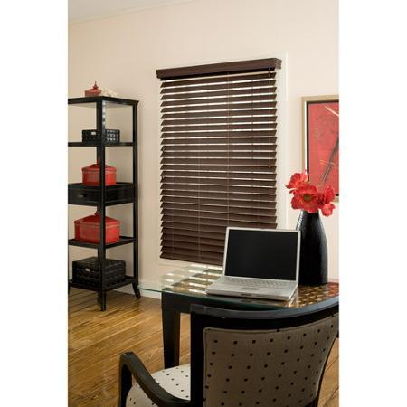 "$13.87 Richfield Studio 10x48"" Faux Wood Blinds"