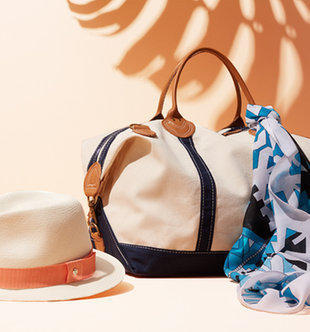 Up to 65% Off Longchamp Handbags & More Chic Seaside Accessories on Sale @ Gilt