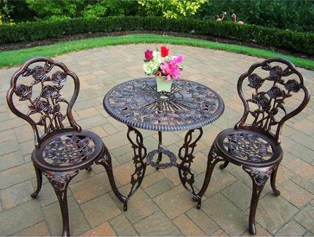 $79 Rose 3-Piece Bistro Patio Set
