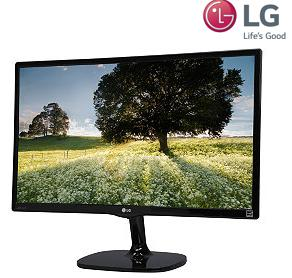 "$129.99 LG 23.8"" 5ms LCD IPS Monitor 24MC57HQ-P"
