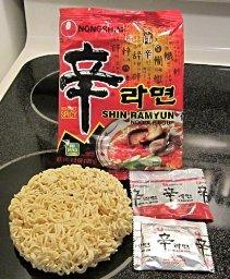 $15.71 Nongshim Shin Noodle Ramyun Gourmet Spicy, 4.2-oz. Packages, 20-Count