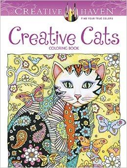 $4.34 Creative Haven Creative Cats Coloring Book (Creative Haven Coloring Books)