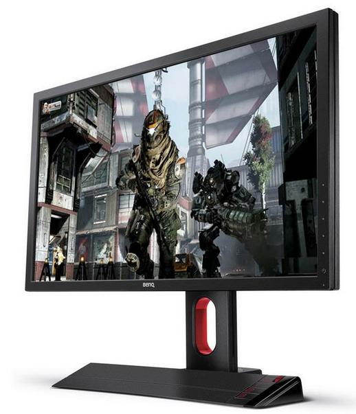 "$296.99 BenQ XL2420Z Black / Red 24"" 1 (GTG) HDMI Widescreen LED Backlight 3D Gaming LCD Monitor"
