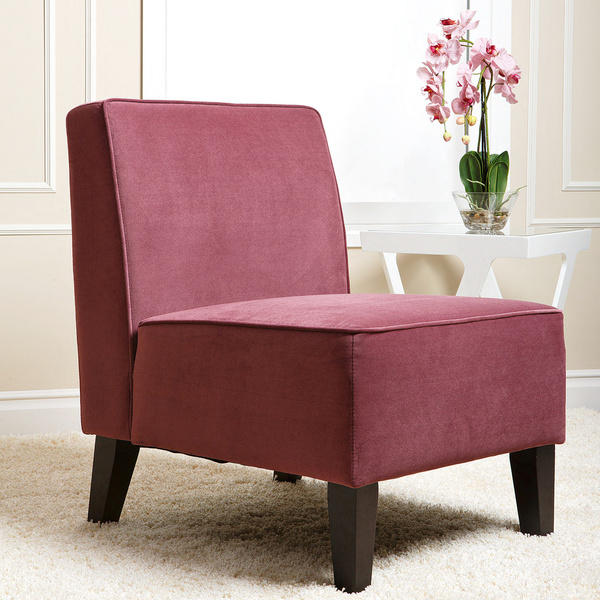 $55.73 ABBYSON LIVING Purple Becca Velvet Chair