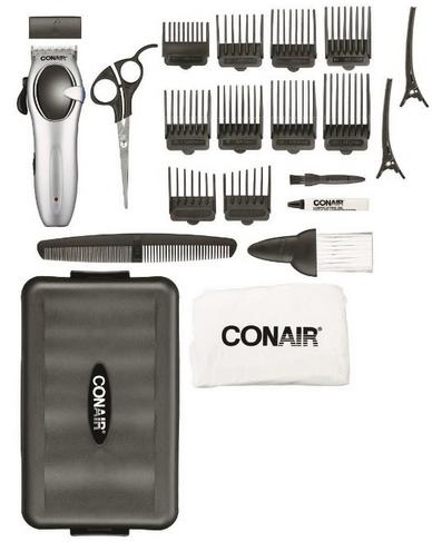 $16.99 Conair 22 Piece Cord/Cordless Rechargeable Haircut Kit