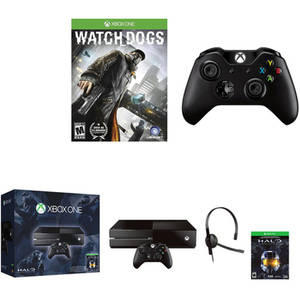 $349 Xbox One Console Bundle with Halo and Bonus Wireless Controller and Game