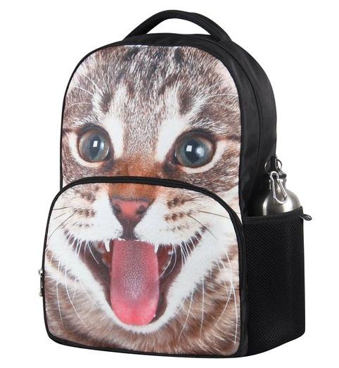 $19.99 Hynes Eagle Unisex Vivid Animal Print Polyester Backpack