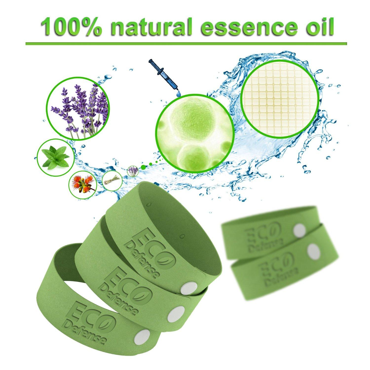 $11.99 Eco Defense Mosquito Repellent Bracelet