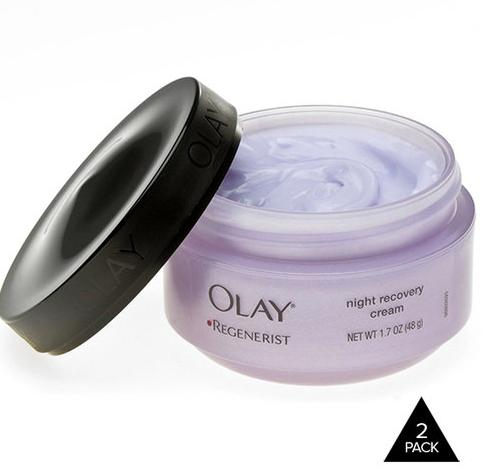 2-Pack: Olay Regenerist Night Recovery Cream - 1.7 oz each