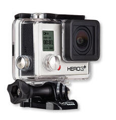 GoPro HERO 3+ Silver Edition 5MP Image Sensor 1080p30 Ultra Wide Angle Lens